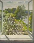 Пора цветения, 1994, 63х49, холст, масло