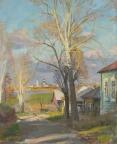 Осенние лучи, 1996, 60х50, холст, масло