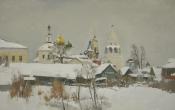 Храмы Коломны, 2013, 60х95, холст, масло