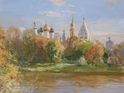 Краски осени, 2012, 40х50, холст, масло