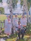 Марийская идиллия, 2016, 80х60, холст, масло
