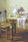 Натюрморт с фруктами, 1992, 60х90, холст, масло