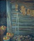 Дары осени, 1984, 76х66, оргалит, масло