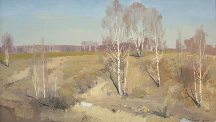 Лесные красавицы, 2007, 35х60, холст, масло