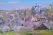Весна в Переславле, 2014, 40х60, холст, масло