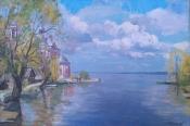 Плещеево озеро, 2014, 40х60, холст, масло