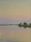 Лунный вечер, 2003,  40х30, холст, масло