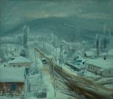 Горячий Ключ, 1983, 59х69, холст, масло